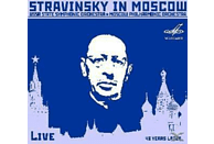 Moscow State Philharmonic Orchestra & Ussr State Symphony Or - STRAVINSKY IN MOSCOW [CD]