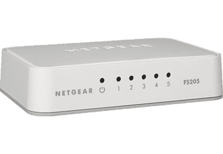 NETGEAR Switch FS205 5Port Fast Ethernet (FS205-100PES)