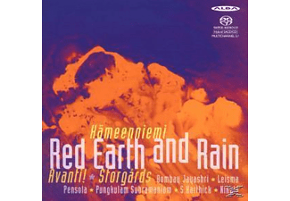 VARIOUS, John Storgards, Jayashri, Avanti, Leisma, Pensola - Red Earth and Rain - (SACD Hybrid)