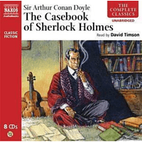 THE COMPLETE CASEBOOK OF SHERLOCK HOLMES - (CD)
