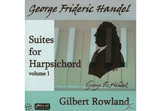 Gilbert Rowland - Suites for Harpsichord Vol.1 - (CD)