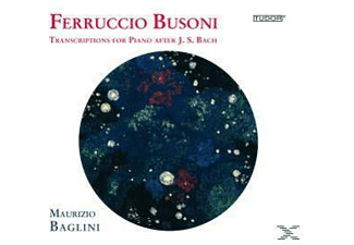 Maurizio Baglini - Transcriptions For Piano After J.s. Bach, Vol. 2 - (CD)