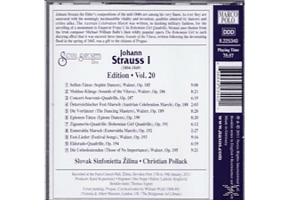 Christian Pollack, Slovak Sinfonietta Zilina - Edition Vol.20 - (CD)