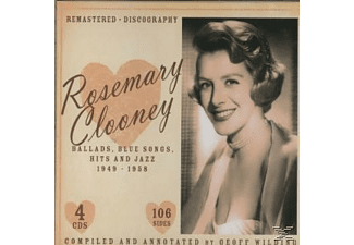 Rosemary Clooney - Ballads,Blues Songs,Hits And Jazz - (CD)