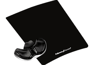 FELLOWES Health-V™ Crystal Gliding Palm Support Black- (9180601)