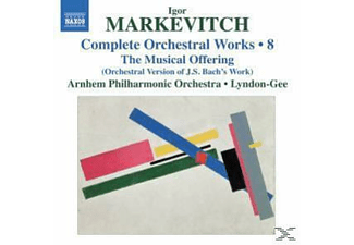 Christopher & Arnhem Philharmonic Oorchestra Lyndon-gee, Christopher & Arnhem Po Lyndon-gee - Orchesterwerke Vol.8 - (CD)