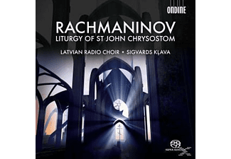 Sigvards & Latvian Radio Choir Klava - Chrysostomos-Liturgie - (SACD Hybrid)