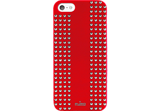 PURO Backcover Rock rouge (IPC5ROCK1RED)