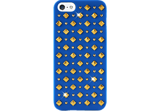 PURO Backcover Rock bleu (IPC5ROCK2BLUE)