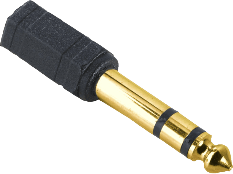 6.3-mm-Klinken-Stecker - 3.5-mm-Klinken-Kupplung Audio-Adapter