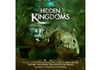 Ben Foster - Hidden Kingdoms - (CD)