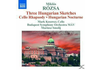VARIOUS, Kosower/Smolij/Budapest SO - Three Hungarian Sketches - (CD)