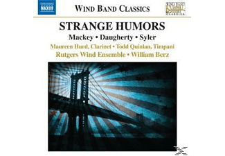 Rutgers Wind Ensemble - Strange Humors - (CD)
