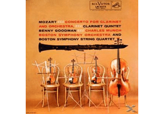 Charles Boston Symphony Orchestra & Munch - Concerto Per Clarinetto - Quintetto Con Clarinetto - (CD)