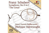 """Philippe & Royal Flemish Philharmonic Herreweghe - Symphony No. 9 in C - """"The Great"""" [CD]"""