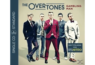 The Overtones - Gambling Man (2track) - (5 Zoll Single CD (2-Track))