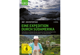 Eine Expedition durch Südamerika 360° GEO Reportage - (DVD)