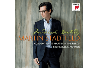 Martin Stadtfeld, Academy of St. Martin in the Fields - Klavierkonzert Nr. 1 & Solowerke - (CD)