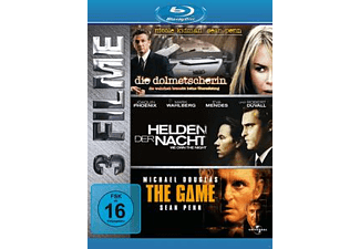 Die Dolmetscherin / Helden der Nacht / The Game - (Blu-ray)