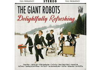 The Giant Robots - Delightfully Refreshing - (CD)