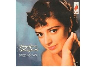 Anna Maria Alberghetti - Sings For You - (CD)