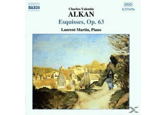 Laurent Martin - Esquisses op.63 - (CD)