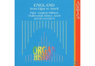 Arturo Sacchetti - England-From Elgar To Arnell - (CD)