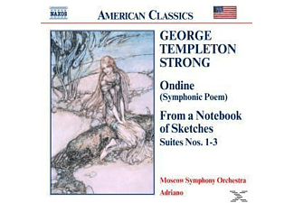 Moscow Symphony Orchestra, Adriano/Moskau SO - Ondine/From A Notebook Of Sketches - (CD)