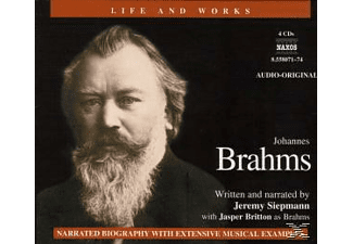 Life & Works-Joh.Brahms - 4 CD - Biographien/Porträt