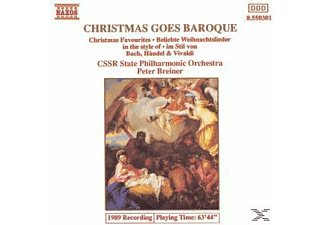 CSSR State Philharmonic Orchestra - Christmas Goes Baroque - (CD)