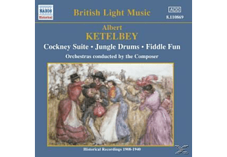 Albert & Various Ketelby, Albert William Ketelbey - Cockney Suite/Jungle Drums/+ - (CD)