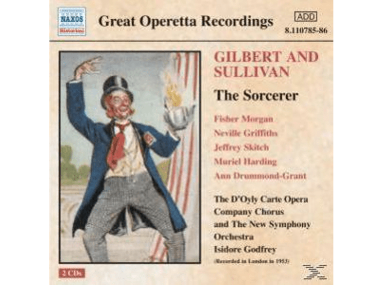 Godfrey, D'oyly Carte Opera, Godfrey & D'oyly Carte Opera - The Sorcerer [CD]