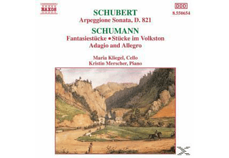 Merscher, Kliegel/Merscher - Arpeggione-Sonate/+ - (CD)