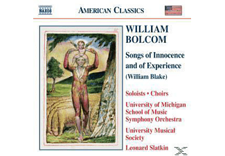 Leonard Slatkin, Slatkin/University Of Michigan - Songs Of Innocence And Of Expe - (CD)