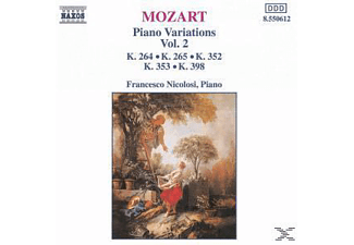 Francesco Nicolosi - Klaviervariationen Vol.2 - (CD)
