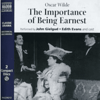 THE IMPORTANCE OF BEING EARNES - (CD)