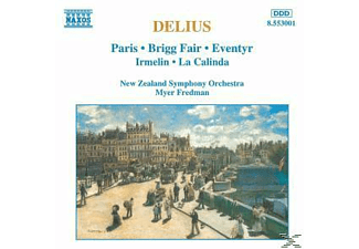 Paris, New Zealand Symphony Orchestra, Brigg Fair, Enventry, Paris/Brigg Fair/Eventyr/+ - Orchesterwerke - (CD)