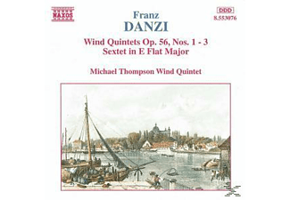 Michael Wind Quintet Thompson - Bläserquintette op.56 - (CD)