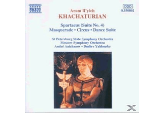 St Petersburg State So, ANICHANOV & STAATSSO ST.PETERSB. - Spartacus-Suite 4/Maskerade/+ - (CD)