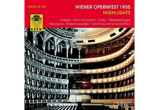 VARIOUS - Wiener Opernfest 1955 Highlights - (CD)