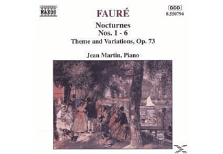 Martin Jean - Nocturnes 1-6/Thema+Variation. - (CD)