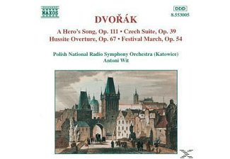 Antoni & National Polish Radio Symphony Orchestra Wit, Wit/Polnisches Staatl.RSO - Heldenlied/Tschech.Suite/+ - (CD)