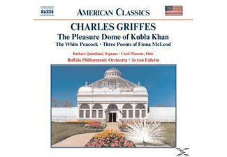 J. & BUFFALO PHILHARMONIC ORCHESTRA Falletta, Joann Buffalo Po & Falletta - Pleasure Dome Of Kubla Khan/+ - (CD)
