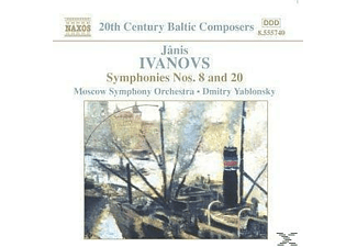 Dmitry Yablonsky, Dmitry/moskau So Yablonsky - Sinfonien 8+20 - (CD)