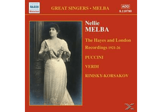 Nellie Melba - Hayes And London Recordings - (CD)
