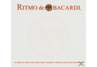 Various/Junior Jack & Chrissi D! (Mixed By) - Ritmo De Bacardi Vol.5 - (CD)