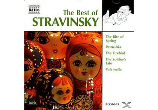 VARIOUS - Best Of Stravinsky - (CD)