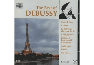 VARIOUS - Best Of Debussy - (CD)