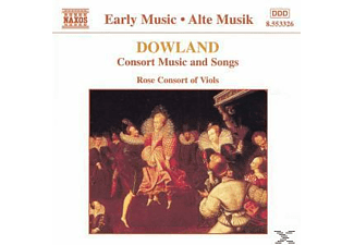 VARIOUS, Rose Consort Of Viols - Consort Music And Songs - (CD)