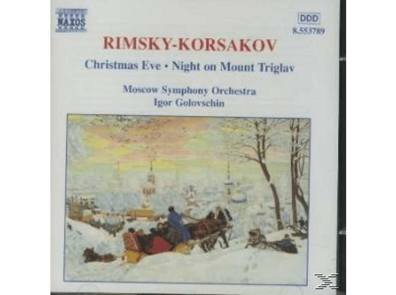 Moscow So, Igor/moso Golowschin - Weihnachtsabend/+ [CD]